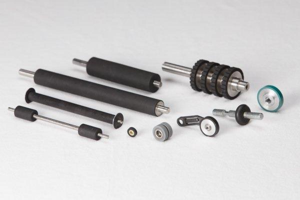 Custom Precision Rubber Rollers
