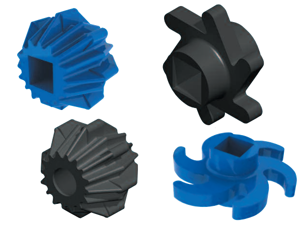 Urethane Acorn and Finger Rollers
