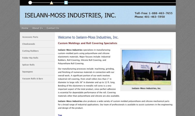 Iselann-Moss Industries, Inc.