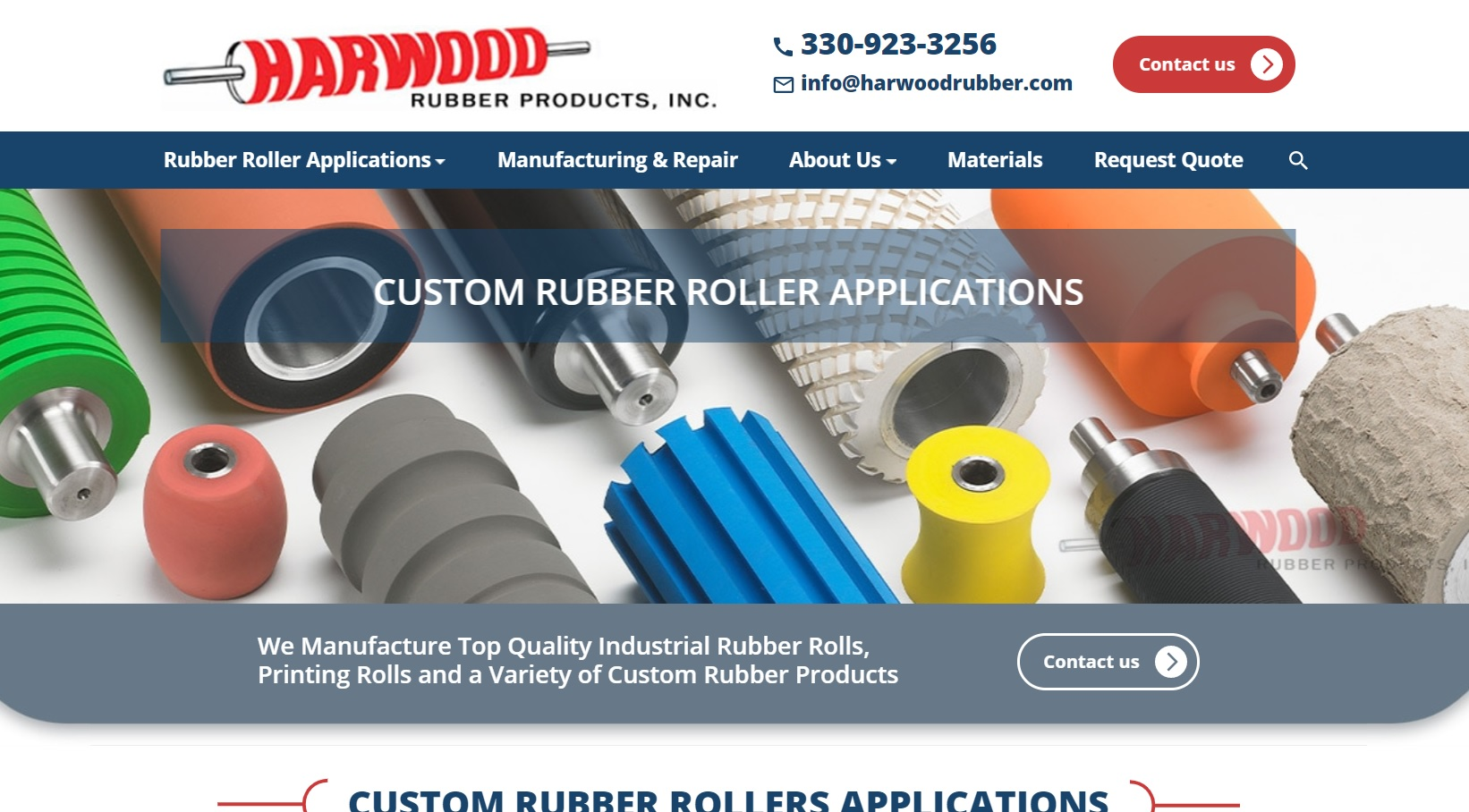 Harwood Rubber Products, Inc.